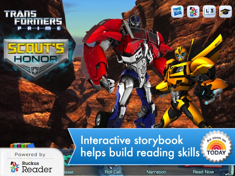 Transformers: Ruckus Reader screenshot-0