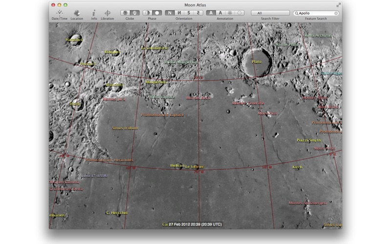 Moon Atlas 3D 月球 for Mac