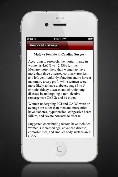 CABG For Anesthesia screenshot-3