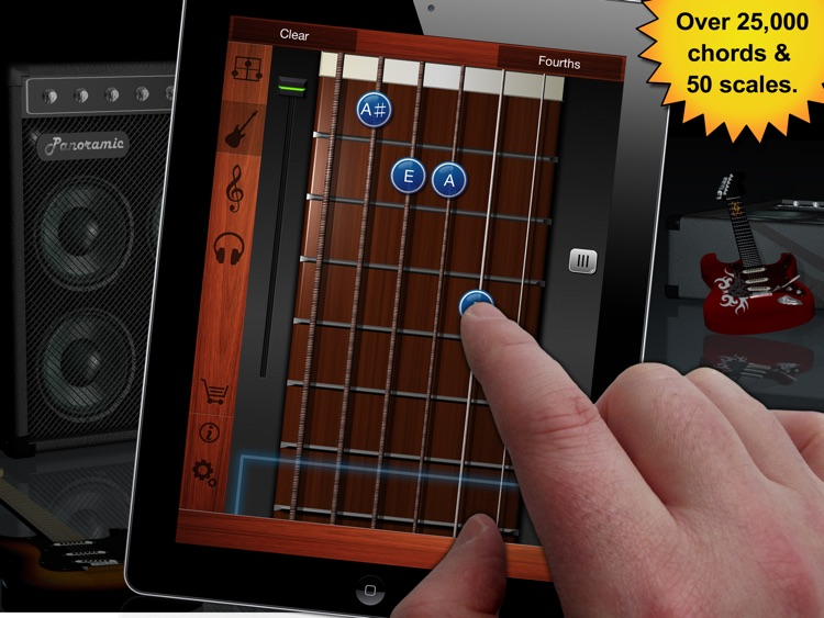 Guitar Suite HD Free - Metronome, Tuner, and Chords Library for Guitar, Bass, Ukulele screenshot-1