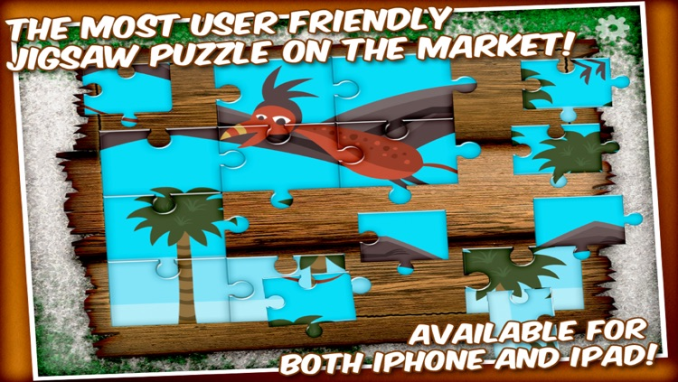 Dinosaur Jigsaw Puzzle - a game for kids with cool dinosaurs screenshot-4