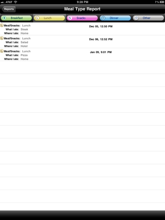 iFood Diary for iPad screenshot-3
