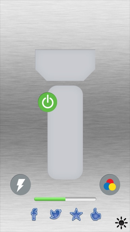 1-Click Flashlight: Fast, Simple, and now with Brightness Control