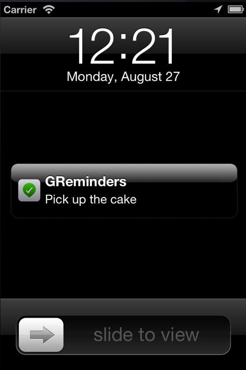 Geo-Reminders Lite ~ A Location-based Reminders App