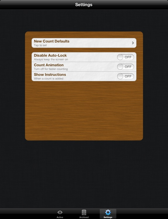 Counts Free for iPad: Count Anything screenshot-4