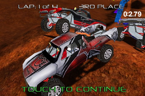 Pro Truck Rally Lite screenshot-1