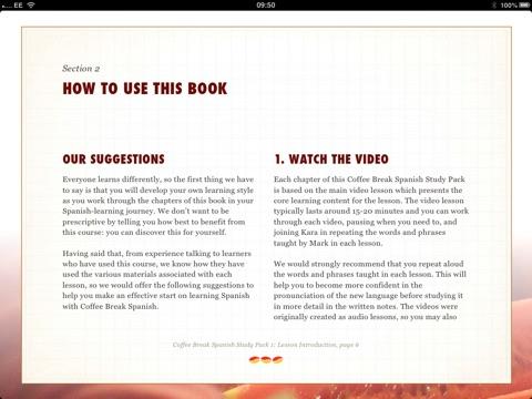 Coffee break spanish study pack 1 by radio lingua mark pentleton screenshot 1 solutioingenieria Image collections
