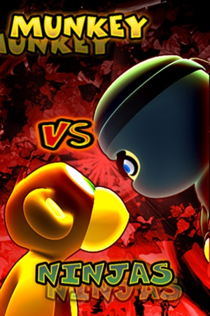 Munkey Vs Ninjas Screenshot