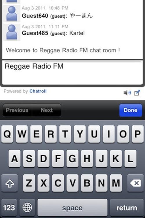 Reggae Radio FM screenshot-3