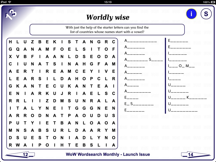 WoW Wordsearch Monthly screenshot-3