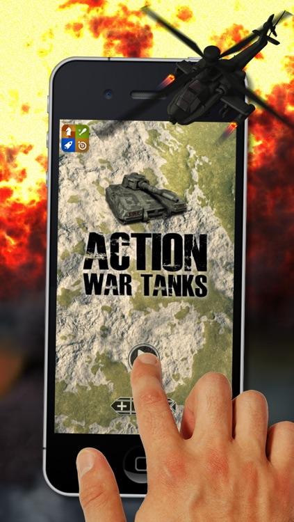 Action War Tanks - Free World War Game screenshot-4