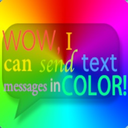 Colored Bubble Texting!!