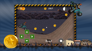 Action Motorcycle Hill Race Xtreme - Dirt Bike Trail Top Free Game screenshot three