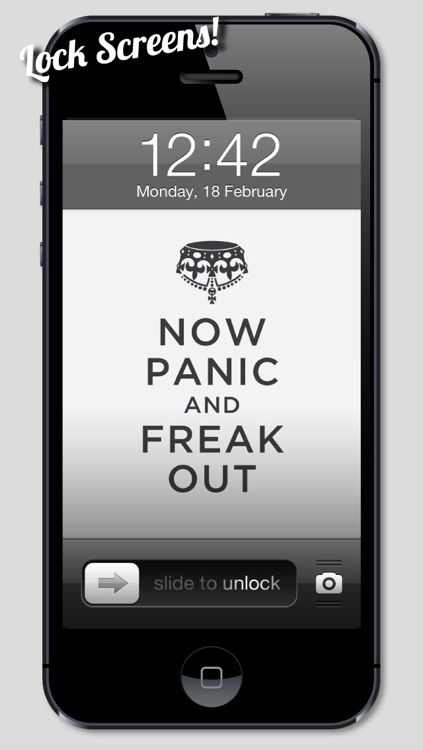 Keep Calm and Carry On Wallpapers, Themes & Backgrounds screenshot-3