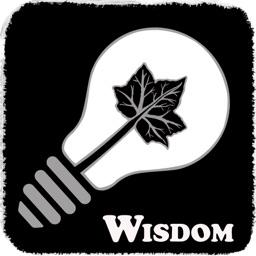 Wisdom On Leaf