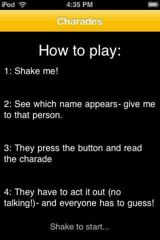 CHARADES - Play With Friends! screenshot-4