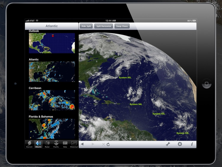 NOAA Hurricane Center HD screenshot-3