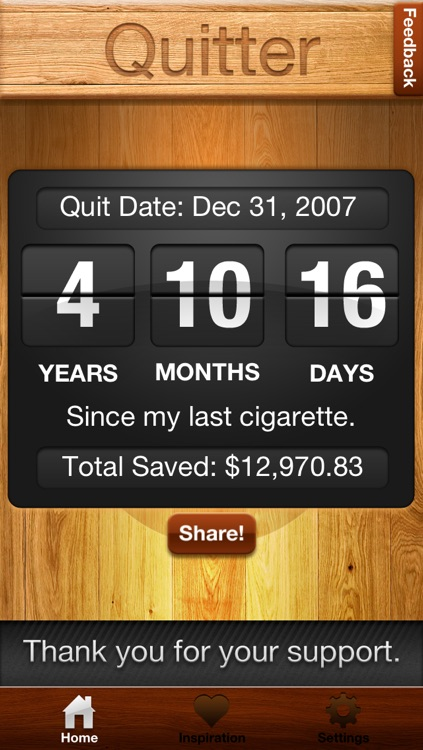 Quitter screenshot-0