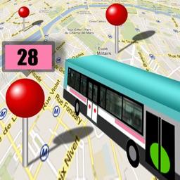 Bus à Paris ! (TOUTES les STATIONS autour de vous)