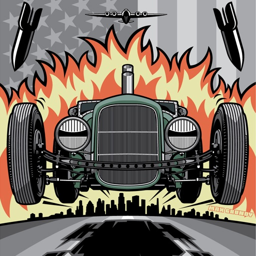 Hot Rods by Max Grundy