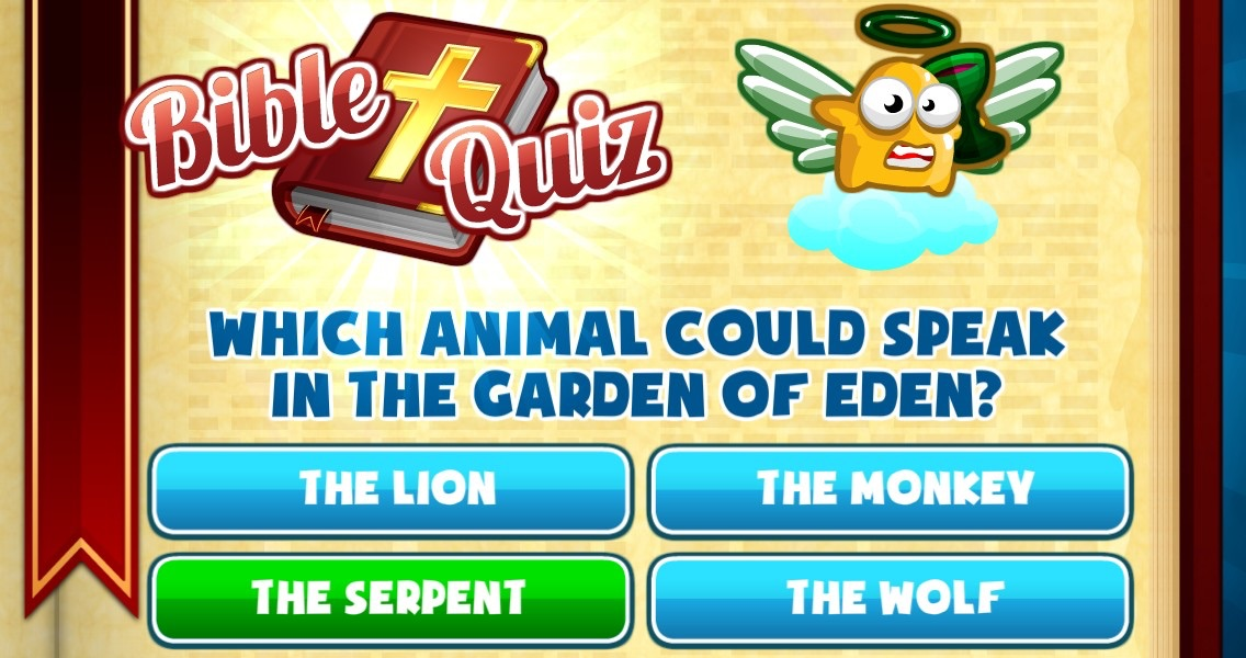 Bible Quiz - Christian & Religion Trivia Screenshot