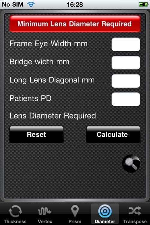 Optical Dispensing Assistant screenshot-3