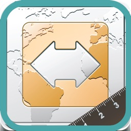 Finger Measure - Map Area & Distance Measurement