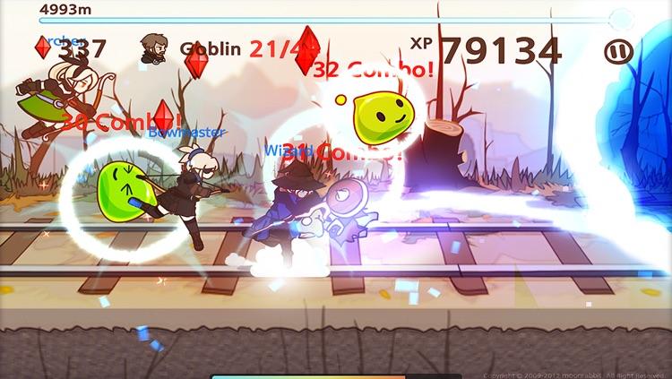 FANTASYxRUNNERS screenshot-3