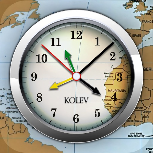 The World Clock by Orlin Kolev