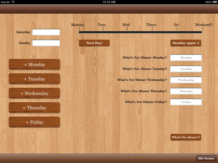 Meal Planner screenshot-3