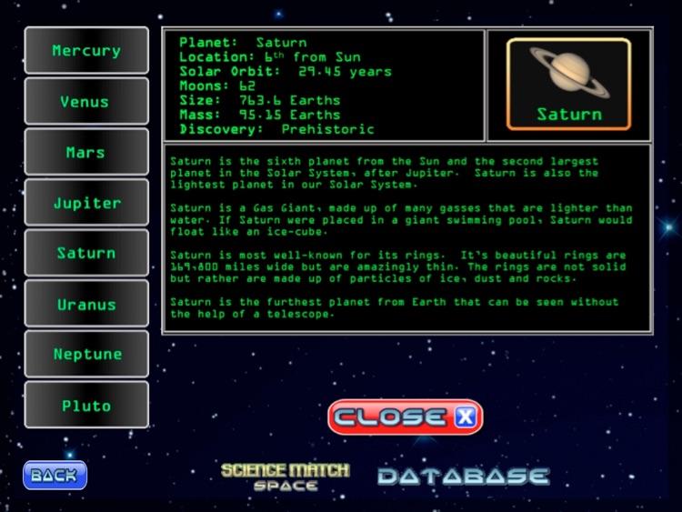 Science Match Space screenshot-3