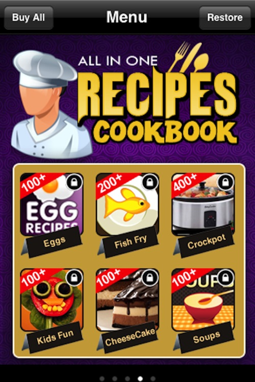 All in One Recipes Cookbook** screenshot-3