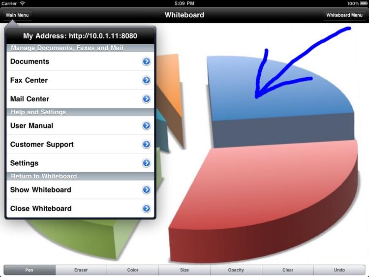 Wireless Whiteboard for iPad screenshot-4