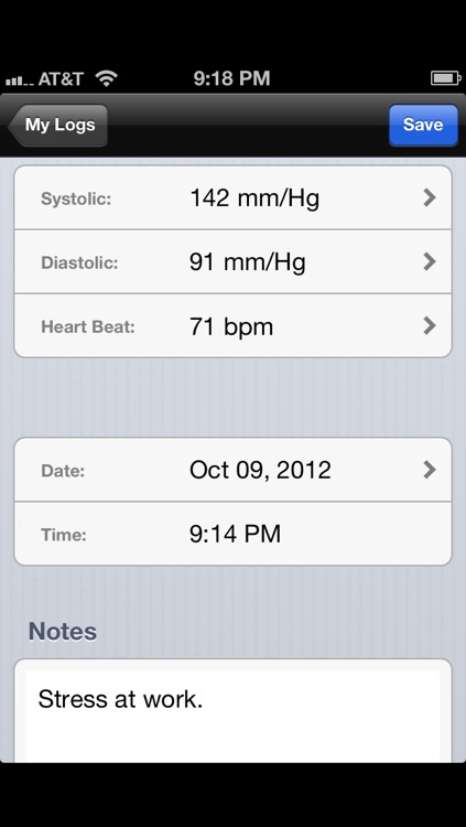 Blood Pressure Tracker - Pro Version