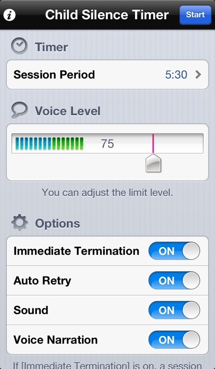 Child Silence Timer screenshot-4