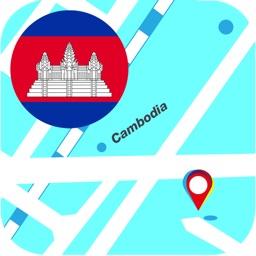 Cambodia Offline Map