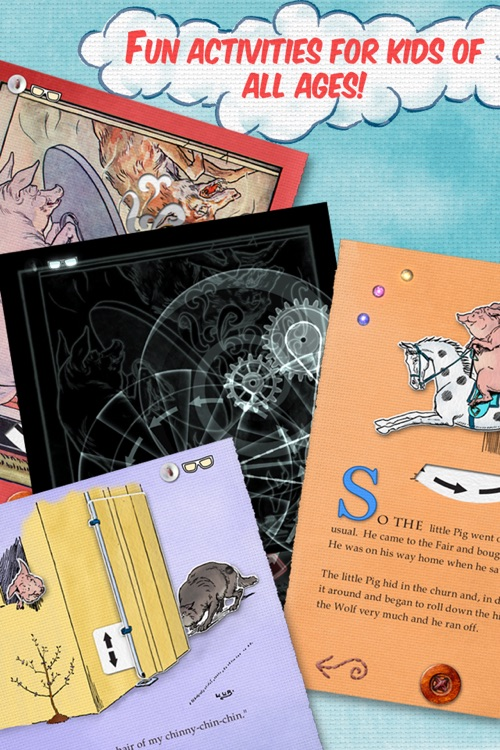 Three Little Pigs and the Secrets of a Popup Book screenshot-4