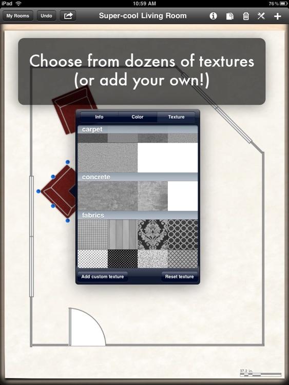 LivingRoom for iPad - Floor Plans & Interior Design screenshot-3