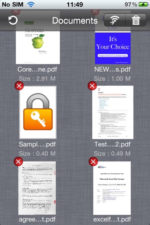 Signature for PDF