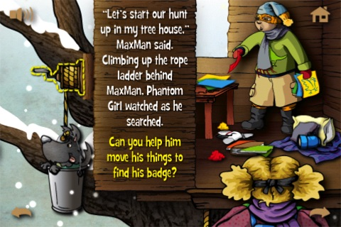 Violet and the Mystery Next Door - Interactive ... screenshot-4
