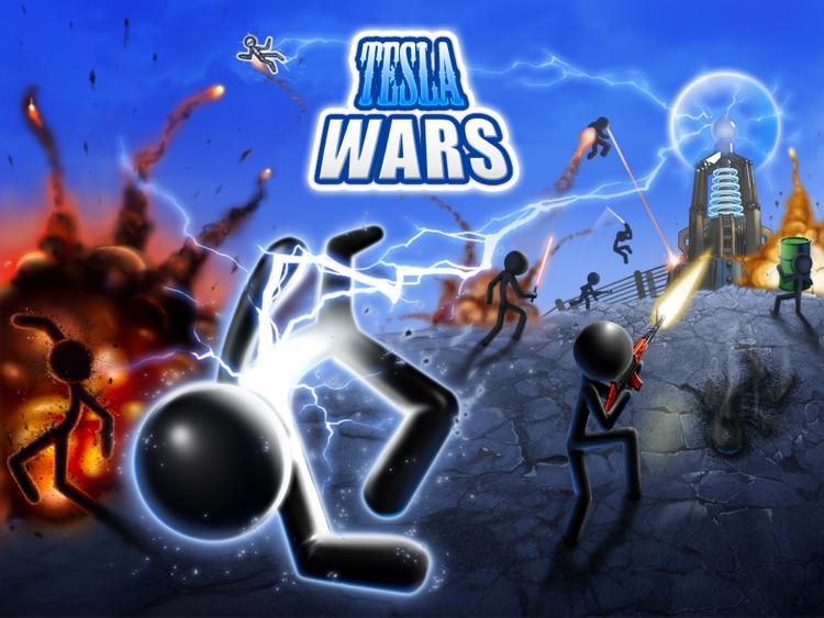 Tesla Wars HD screenshot-0