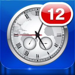 World Clock Badge