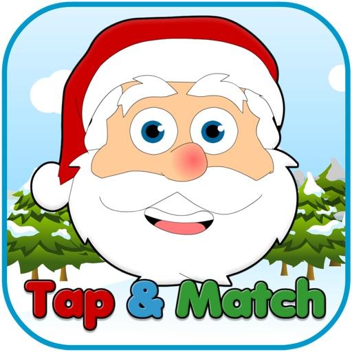 Santa's Tap & Match