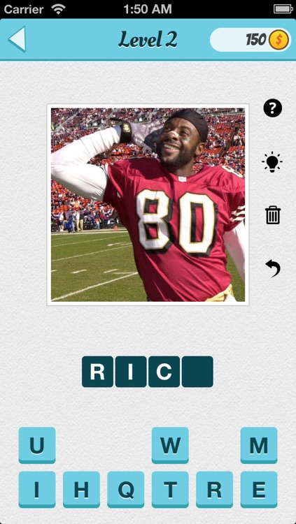 Wubu Guess the Footballer - American Football - FREE Quiz Game screenshot-1