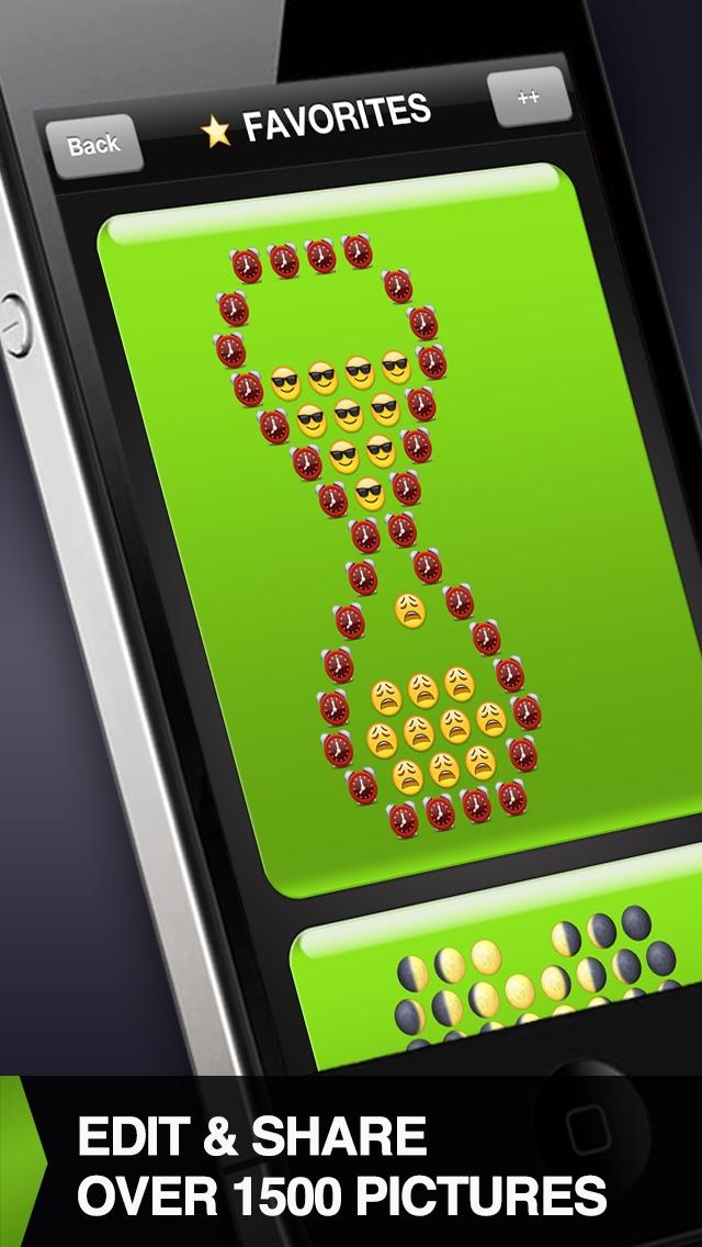 Screenshot for Emoticons++ in Jordan App Store