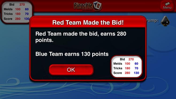 Pinochle HD screenshot-3
