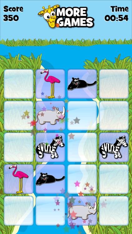 Giraffe's Matching Zoo