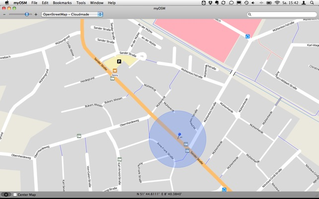myOSM on the Mac App Store