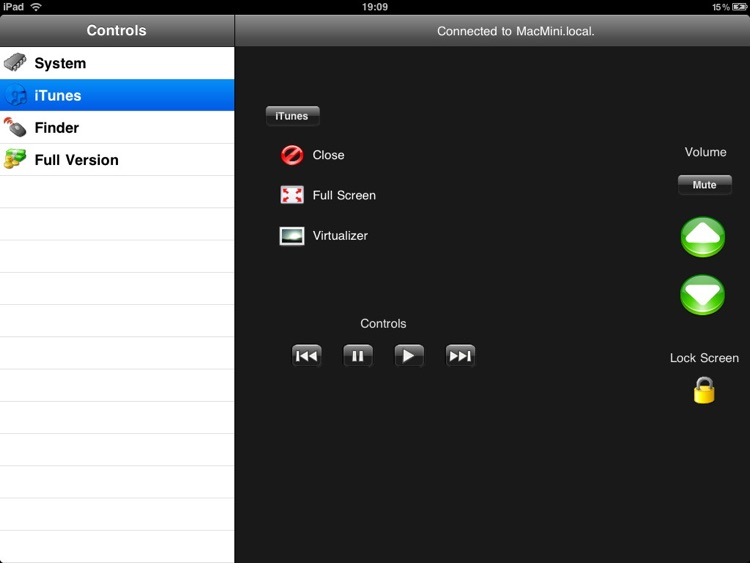 jfControl HD Lite - Allround Remote Control