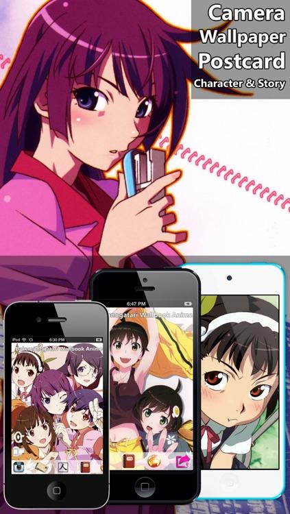 Bakemonogatari WallBook Anime